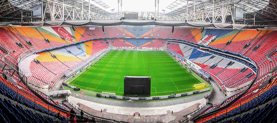 Amsterdam ArenA, Amsterdam - Les plus beaux stades d'Europe