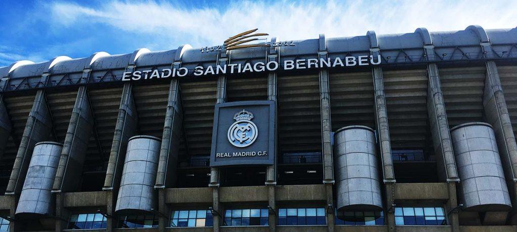 Le stade Santiago Bernabéu du Real Madrid